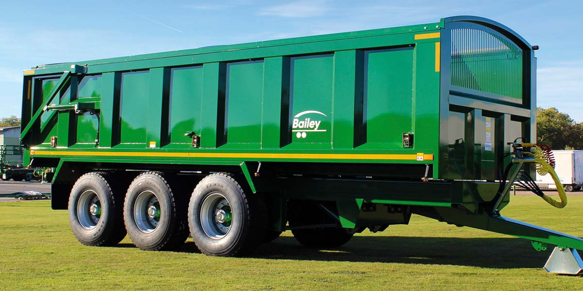 DAS Bailey trailers